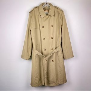 Misty Harbor Camel Double Breasted Trench Coat